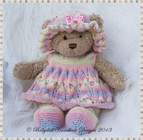 1000 Images About Knitting For Bears Dolls On