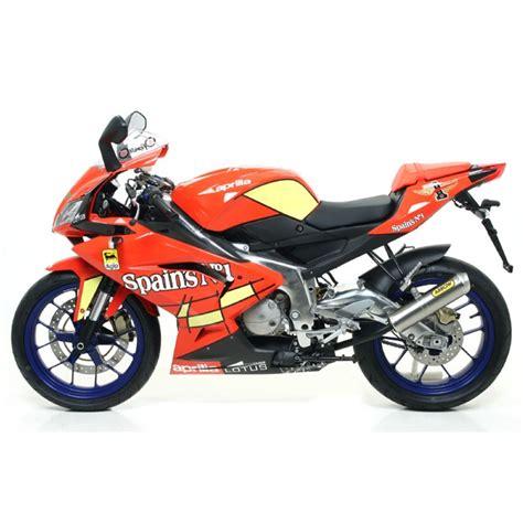 125 Motorrad Typen by Arrow Auspuff Rs125 Typ Rd 07 Titan Aprilia Rs125 Rd 07