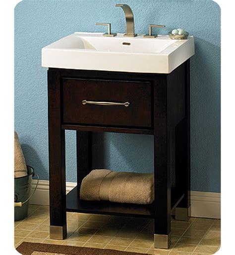 Open Shelf Bathroom Vanity Fairmont Designs 145 V2418a Midtown 24 Quot Open Shelf Modern Bathroom Vanity In Espresso