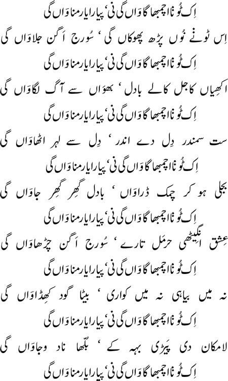 Detox Meaning In Punjabi by How To Read Bulleh Shah Newspaper