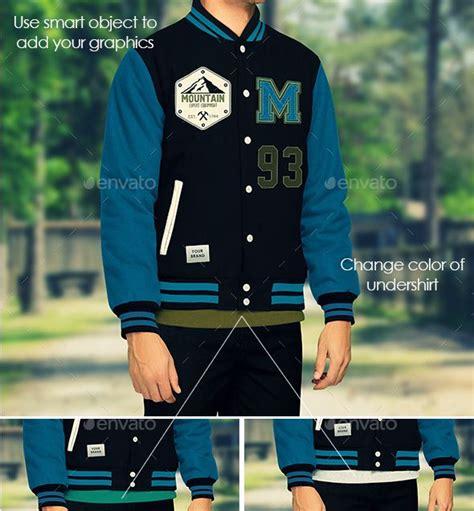 varsity jacket template psd jacket mockup varsity and bomber jacket templates psd