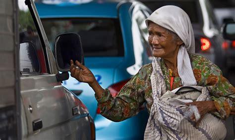 indonesia takes beggars  jakarta streets   york
