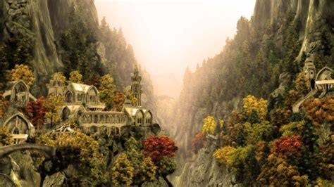 themes in the river god rivendell wallpapers wallpaper cave