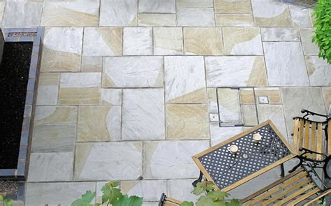 Patio Paving Slabs by Indian Sandstone Paving Slabs Wrexham Heritage Company