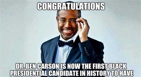 Ben Carson Meme - this awesome meme about dr ben carson is going viral