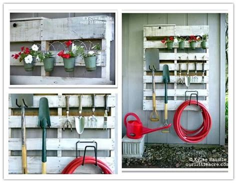 diy garden tool rack there s no place like home