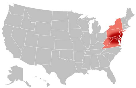 us map mid atlantic region resourcesforhistoryteachers 4 11