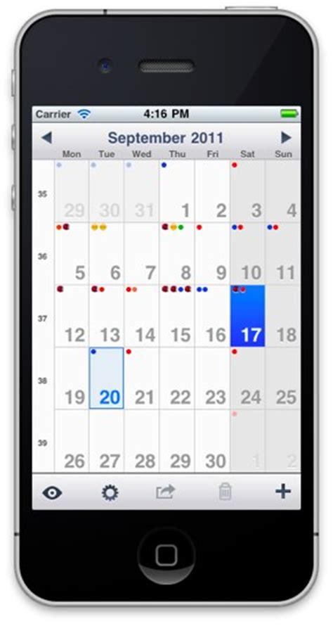 kalender app design ios app agenda calendar 2 0 iphoneblog de