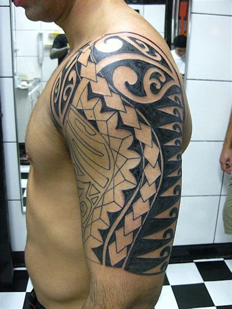 blending tribal tattoos 37 tribal arm tattoos that don t tattooblend