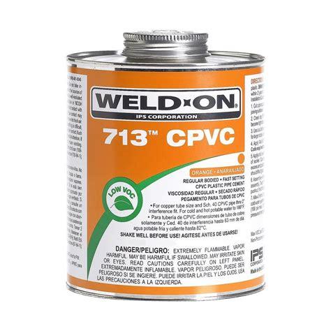 pvc für küche 012181101285 upc pipe cement primer cleaner weld on