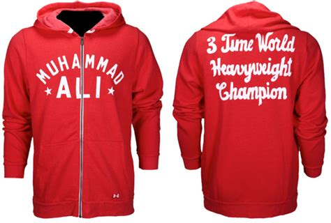 Hoodie Muhammad Alismlxl 3 armour x roots of fight ali 3x ch hoodie