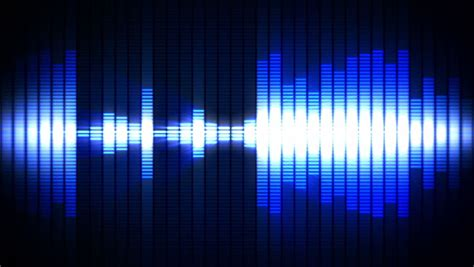 frequency sound wave stock footage video