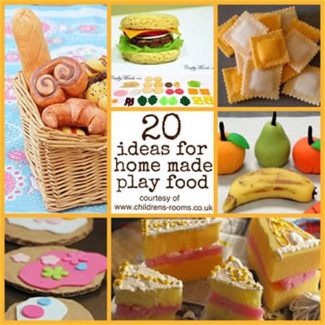 how to make your own food make your own play food the children s rooms
