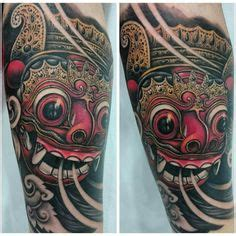 free tattoo tuesday bali me on work full sleeve progress bali oriental barong