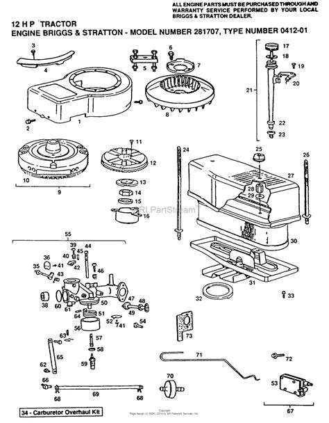 parts diagram for briggs stratton engine ayp electrolux yplt120dr 1999 before parts diagram for