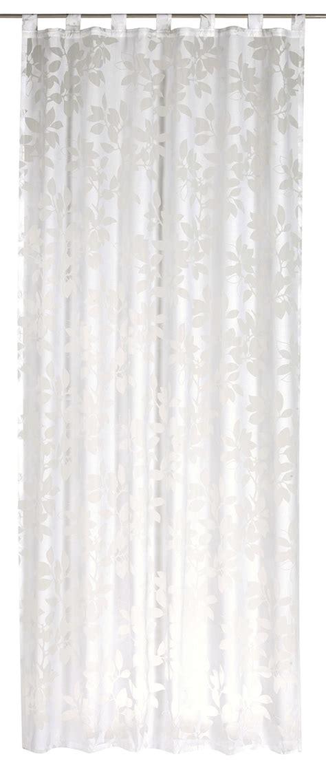 curtain spring loop curtain spring time flower white semi transparent