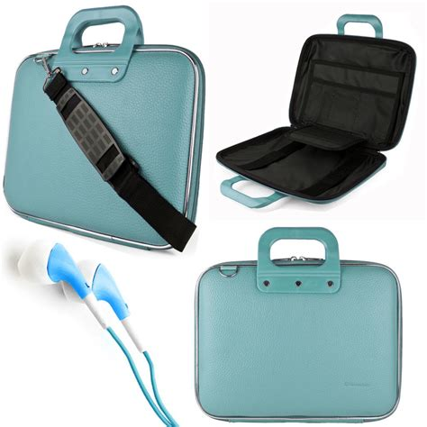 blue cady laptop bag carrying for apple macbook pro air 13 13 3 quot earphone ebay