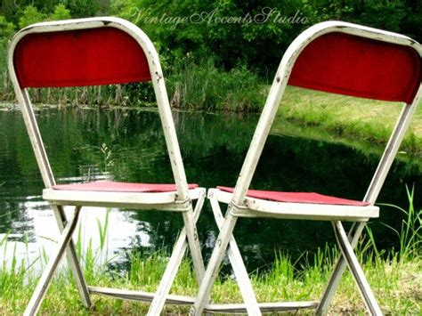 Decorate Metal Folding Chairs by Antique Metal Folding Chair White Industrial Furniture