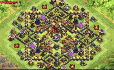 10 best coc town hall th8 farming bases with bomb tower 2016 clash of clans town hall level 10 defense base design