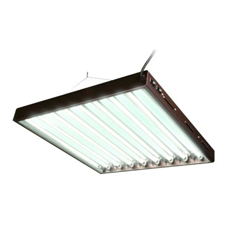 8 Ho Fluorescent Light Fixture with T5 Ho Fluorescent Light Fixture 8 L Horticulture Supply Center