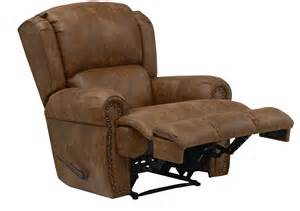 catnapper dempsey leather recliner by oj commerce 689 00
