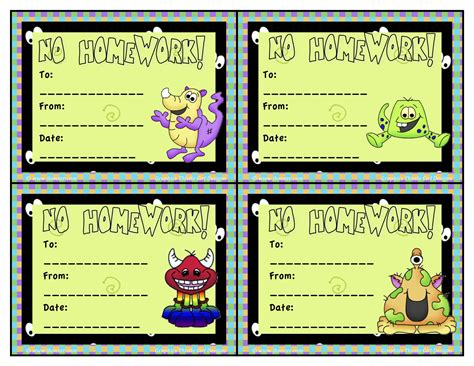 homework pass template customizable homework pass ssays for sale