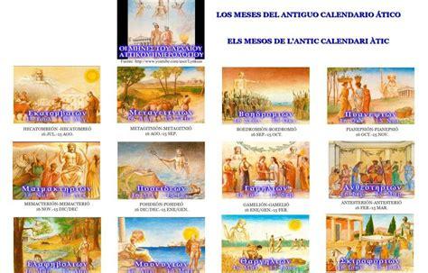Calendario Griego Hortus Hesperidum ὁ κῆπος ἑσπερίδων Init Mmxii