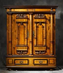 meubles anciens armoire renaissance dat 233 e 1677 bertrand