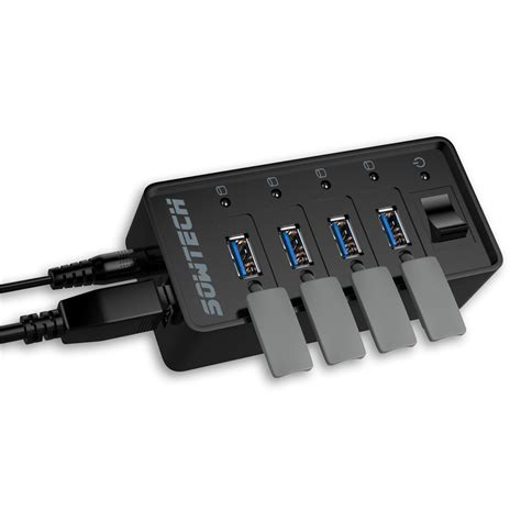 Usb 2 0 Hub 4 Port On usb hub 4 ports sowtech
