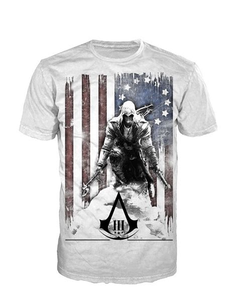 T Shirt Assasin assassin s creed iii t shirts at europosters