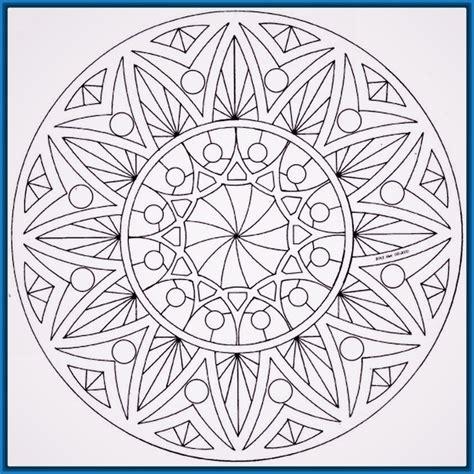 dibujos para colorear mandalas dificiles mandalas para colorear dificiles y bonitas de animales