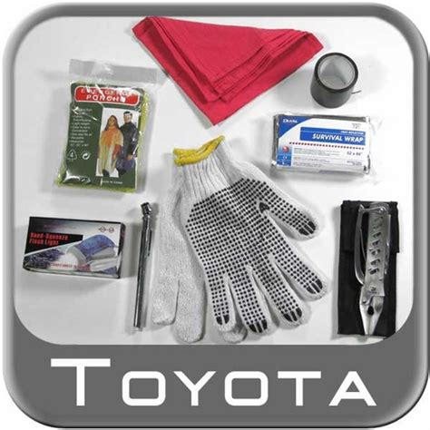 Toyota Roadside Service Number Brand New Genuine Toyota Emergency Assistance Kit From