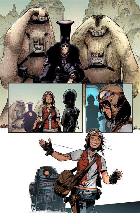 wars doctor aphra vol 2 doctor aphra and the profit star wars doctor aphra 1 preview 2 gamer