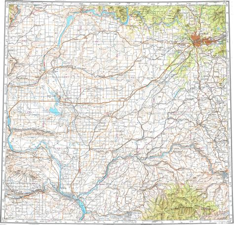 spokane map 100 spokane map buy and find washington maps bureau of land management statewide