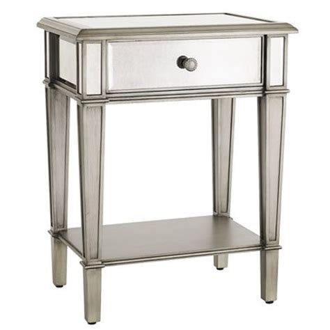 Mirrored Nightstand Sales by Hayworth Mirrored Nightstand Silver Pier 1 Imports