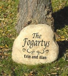 Engraved Garden Rocks Engraved Garden Stones Personalized Garden Rocks And Memorial Garden Engraved Stones