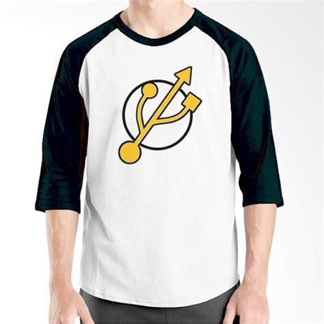 Kaos Ordinal Logo 05 jual ordinal raglan logo 04 putih hitam kaos pria harga kualitas