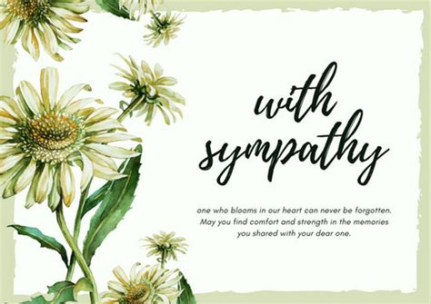 funeral flower card templates 29 images of printable template for sympathy cards
