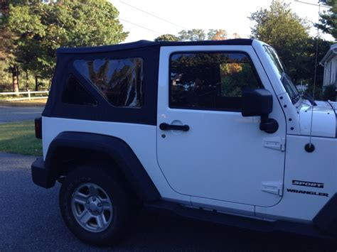 Just For Jeeps Jeep Wrangler Soft Top Tinted Replacement Windows From
