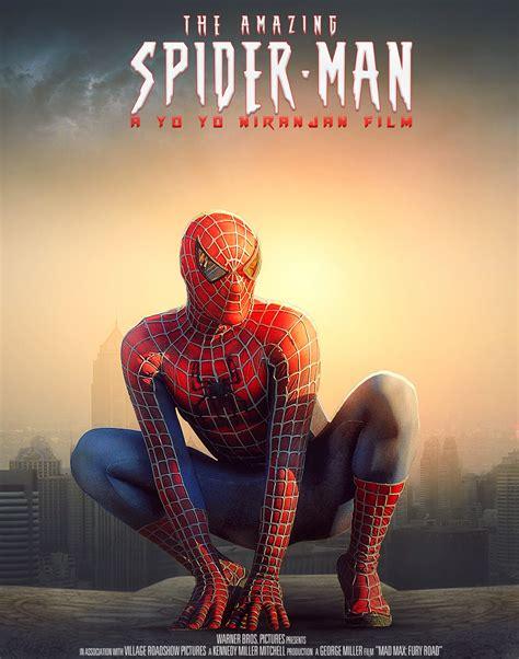 movie poster layout photoshop spider man movie poster design in photoshop yo yo niranjan