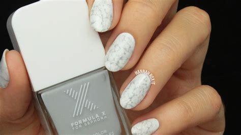 tutorial nail art marble tutorial stone marble nail art hannah rox it
