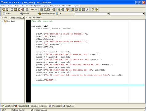 tutorial de c tipos de datos y operadores aritm 233 ticos en lenguaje c