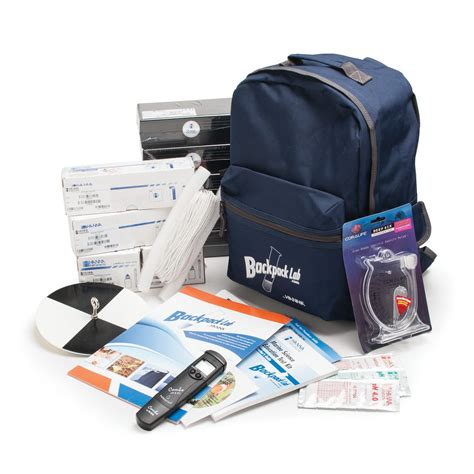 Tst Backpack backpack lab marine science educational test kit