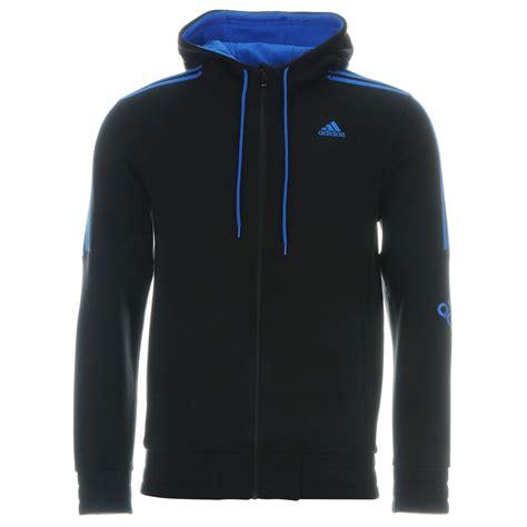 Sweatshirt Adidas 1 adidas mens three stripe logo hoody zip hoodie sleeve sweatshirt ebay