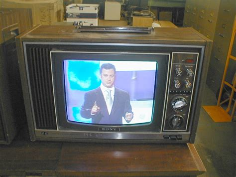 when were colored tvs invented frankenstein story about our shiny friend televison