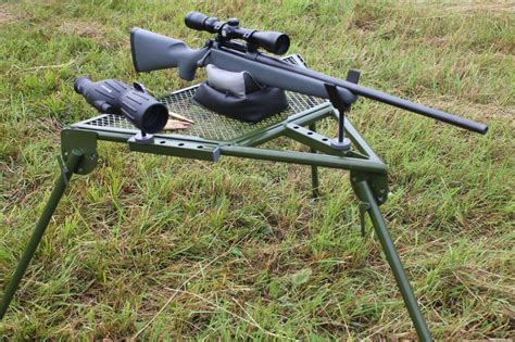 rifle shooting bench hyskore 174 announces ten ring 174 portable shooting bench the ultimate shooting platform
