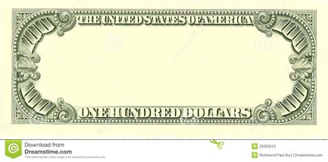 blank dollar bill template best photos of blank money template blank play money