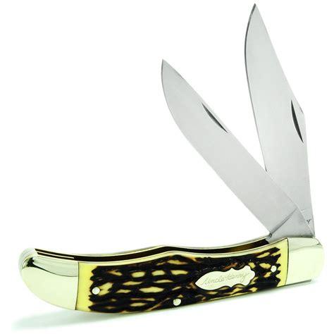 schrade folding knives schrade 174 henry 174 folding bowie knife 297543