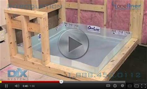 One Liner Shower Pan by Shower Pan Step 1 This Means Some Areas Of The Pan