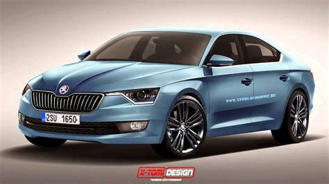 when is the new skoda superbing out new skoda superb 2015 model